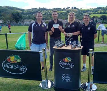 The Real Soup Co. football tournament raises funds for children's cancer charity